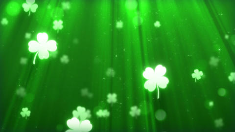 Saint Patricks Day Background Animation
