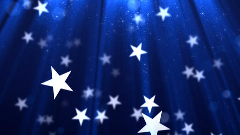 Loopable Stars Background Animation