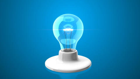 Light Bulb Change Background Stock Video Footage