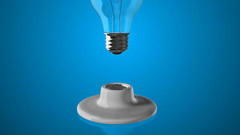 Light Bulb Change Background Animation