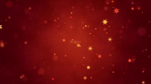 Congratulatory Christmas video card. Decorative gold… Stock Video Footage