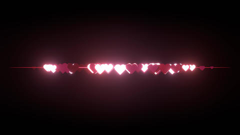 Heart Explosion Animation