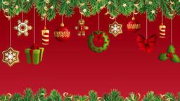 Christmas & New Year Background Animation