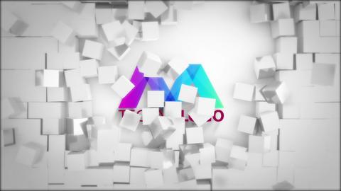 Fast Cubes Logo Reveal Premiere Pro Template