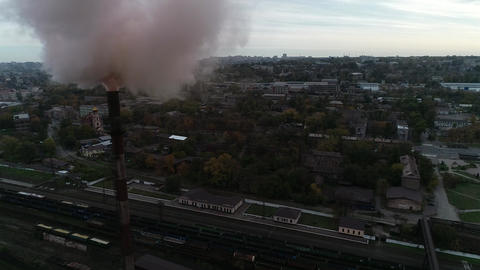 Environmental pollution by metallurgical plant Live Action