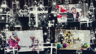 New Year's and Christmas 2020 After Effects Template