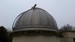 Astronomical Observatory Telescope Footage