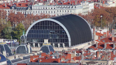Opera de Lyon Time Lapse Footage