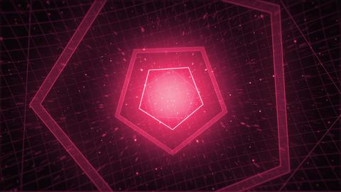 Mov210 tonnel pentagon loop 06 Animation