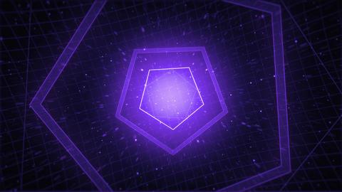 Mov210 tonnel pentagon loop 05 Animation