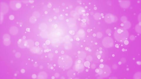 Bokeh pink glowing background Animation