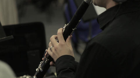 Clarinet Player Musical Performance Live Action