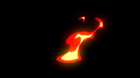 2D Fire Element Animation