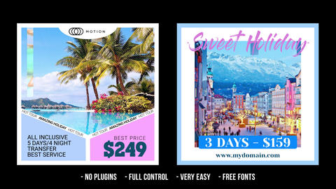 Social Media Promo - TRAVEL After Effects Template