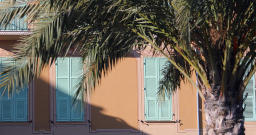 Typical Shutters Of The South Of France Live Action