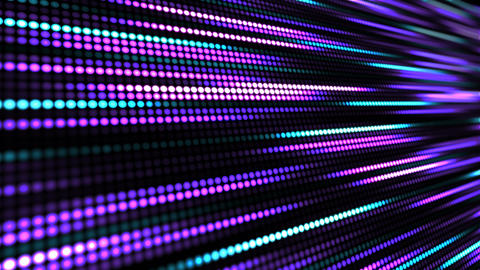 LED Lights Trails Animated Background Animation