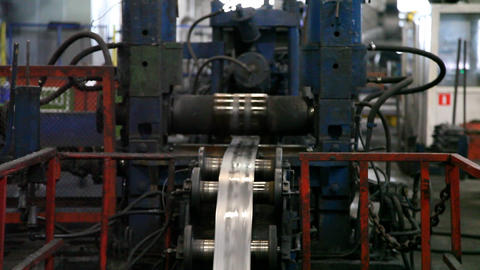 Steel Pipe Machine Manufacturing Live Action