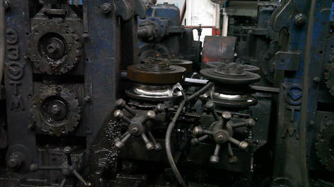 Mechanism Machine Rotating Parts Factory Live Action