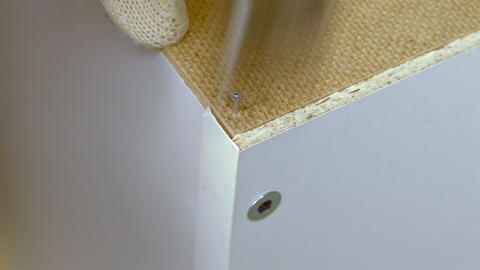 4K Wood Furniture / Hammer and Nail / DIY Home Footage