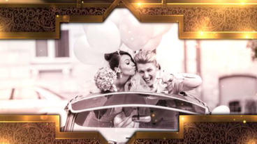 Golden Royal Wedding After Effects Projekt