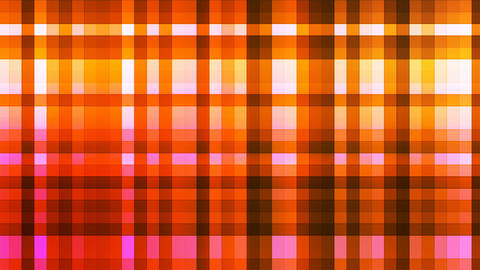 Broadcast Twinkling Hi-Tech Strips, Orange, Abstract, Loopable, 4K Animation