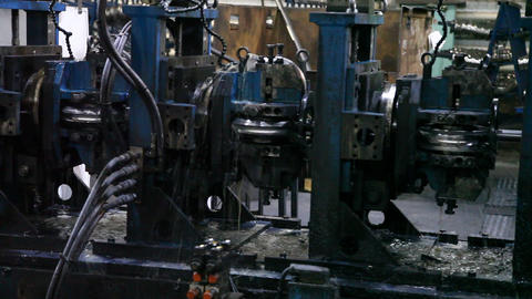 Machine Factory Spinning Elements Live Action