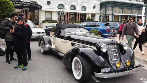 1935 Auburn Supercharged Boattail Speedster Replica Live Action