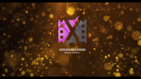 Golden Fashion Logo Reveal After Effects Template