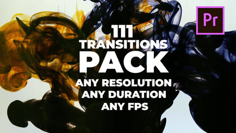 111 Transitions Pack Premiere Proテンプレート