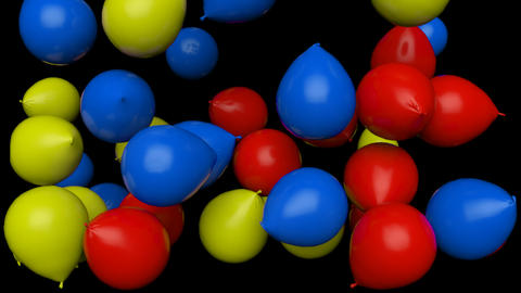 Colorful Balloons Animation