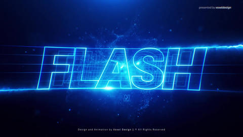 Flash Cinematic Title After Effects Template