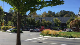 Typical Establishing Shot Business Headquarters in Seattle Footage