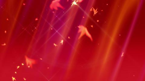 SHA Autumn BG Image Red, CG動画素材
