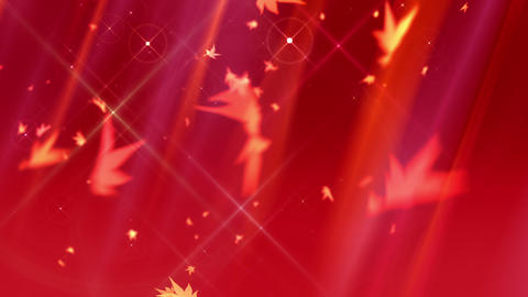 SHA Autumn BG Image Red CG動画