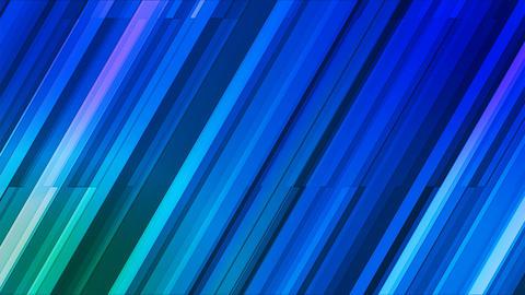 Broadcast Twinkling Slant Hi-Tech Bars, Blue, Abstract, Loopable, 4K Animation