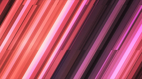 Broadcast Twinkling Slant Hi-Tech Bars, Maroon, Abstract, Loopable, 4K Animation