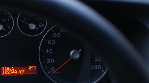 car dashboard Live Action