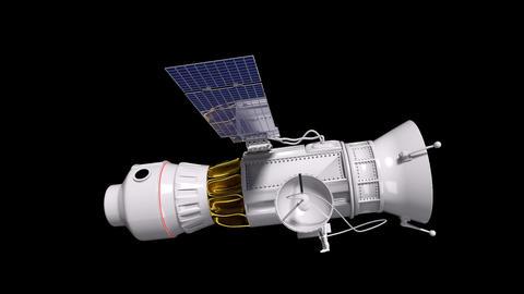 Space Satellite GIF