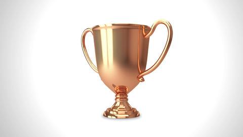 Trophy bronze 001 Animation