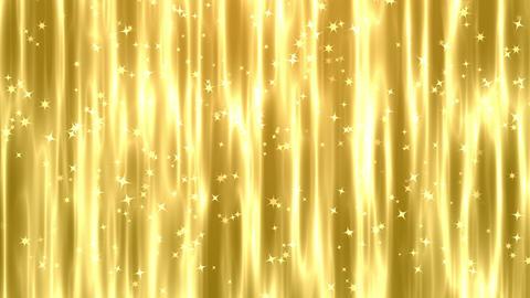 ゴールド 金色のキラキラ 背景CG動画素材 CG動画