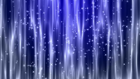 青色のキラキラ 背景CG動画素材 CG動画