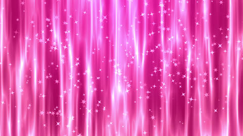 ピンク色のキラキラ 背景CG動画素材 CG動画