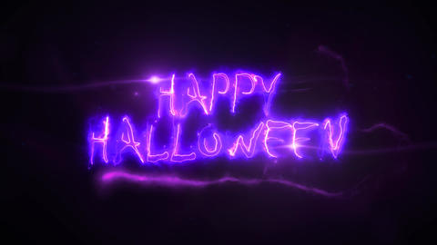 Trick Or Treat Halloween Scary Background Clip Animation