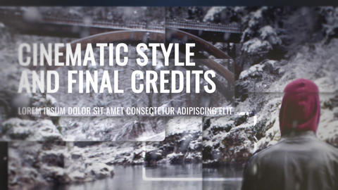 Epic Slideshow With Credits Plantillas de Premiere Pro