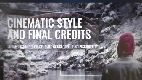 Epic Slideshow With Credits Premiere Proテンプレート