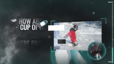 Ice Sea - Slideshow Premiere Pro Template