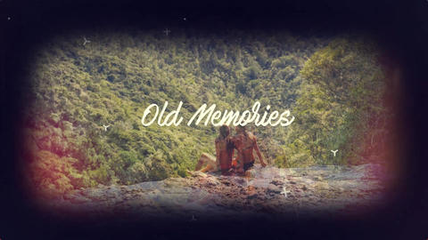 Old Memories After Effects Template