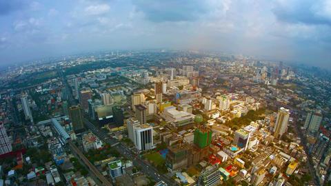 Looking Down on a Sprawling. Metropolitan City Footage