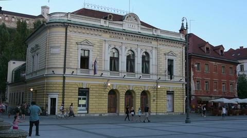 The Slovenian Philarmonic Hall in Ljubljana Live Action