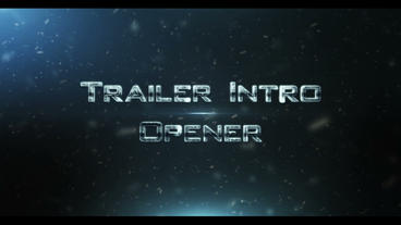 Trailer Intro Ident 1 After Effects Project
